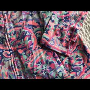 Lilly Pulitzer Womens luxletic la playa jacket M